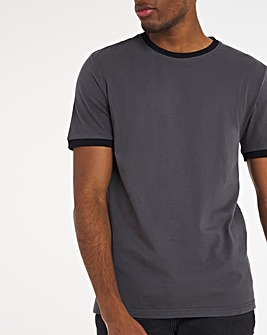 Core Tipped Ringer T-Shirt Long
