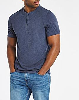 Grandad Neck T-shirt Long