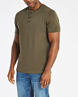 Grandad Neck T-shirt L