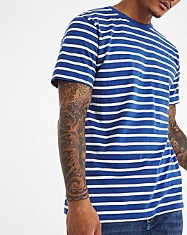 Jacamo Bretton Stripe T-shirt Long