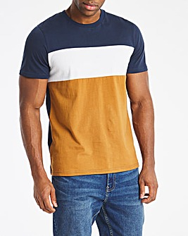 Brown Cut and Sew Tee Long