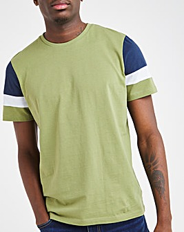 Green Cut and Sew Tee Long