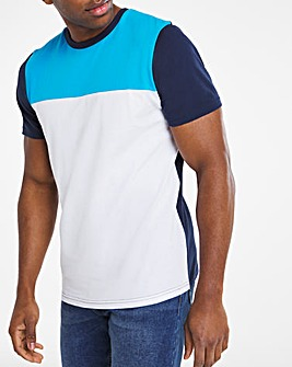 Blue Cut and Sew Tee Long
