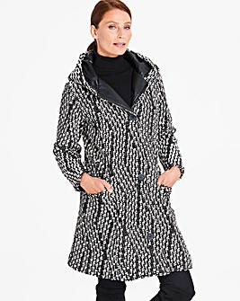 Eden Rock Onda Hooded Coat