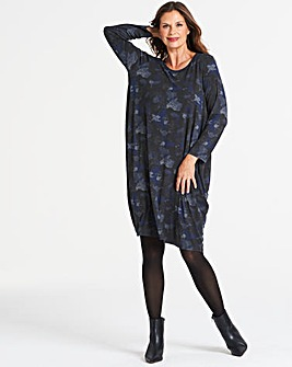 Eden Rock Camoflage Long Egg Dress