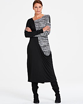 Eden Rock Bamboo Long Dress Side Pocket