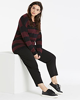 I.Scenery Stripe Knit Pullover
