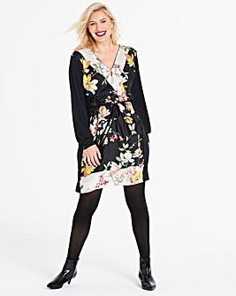 Oasis Curve Scarf Shirt Dress
