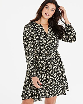 Oasis Ditsy Print Dress