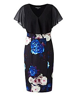 Scarlett & Jo 2in1 Floral Pencil Dress