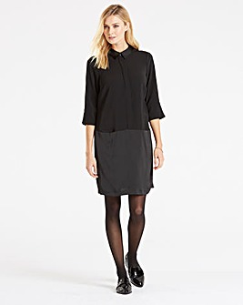 I.Scenery Shirt Shift Dress