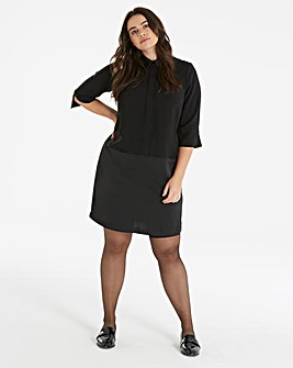 I.Scenery Shirt Shift Dress