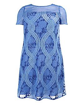 Lovedrobe Lace Shift Dress