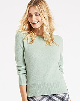 Oasis Curve Rib Side Jumper