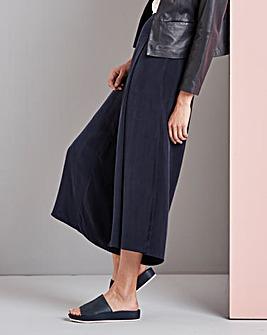 Concept Wide Leg Cupro Culottes