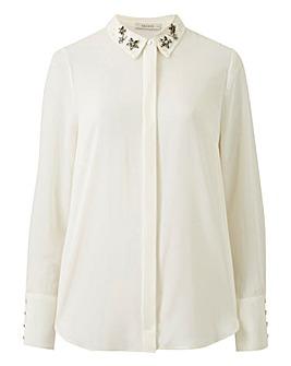 Oasis Star Embellished Collar Shirt