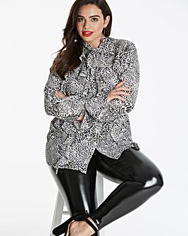 Glamorous Curve Frill Shirt