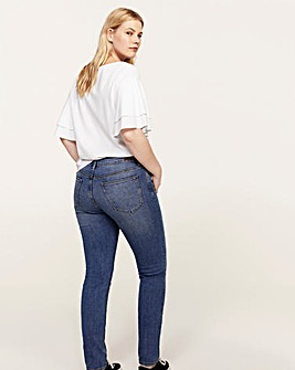 Violeta by Mango Floral Sequin Jeans