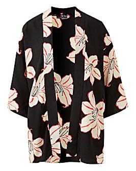 Lovedrobe Print Kimono