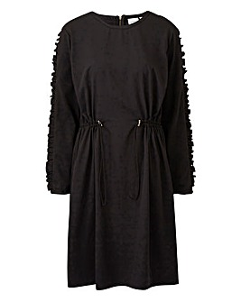 Junarose Ruffle Shoulder Dress