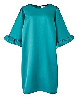 Junarose Frill Sleeve Dress