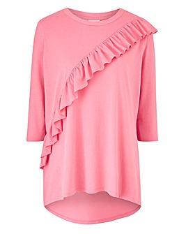 Junarose Asymmetric Frill T-Shirt