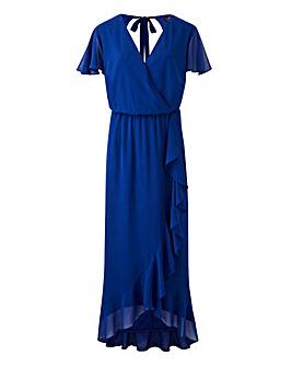 Lovedrobe Wrap Dress with Ruffle