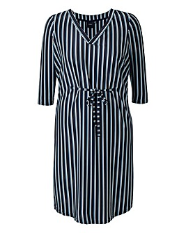 I.Scenery Dreamer Stripe Dress