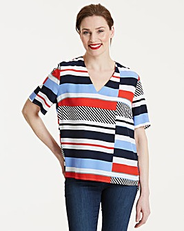 Tommy Hilfiger Hoggon Stripe Top