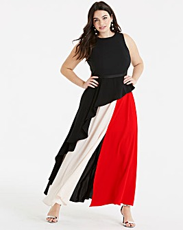 Coast Piper Colourblock Maxi Dress