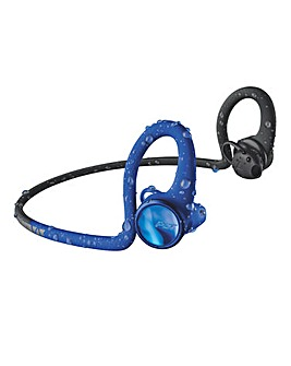 Plantronics Back Beat Fit 2100 Blue Bluetooth Headphones