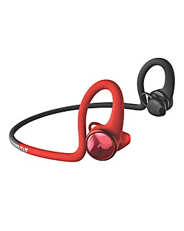 Plantronics Back Beat Fit 2100 Lava-Black Bluetooth Headphones