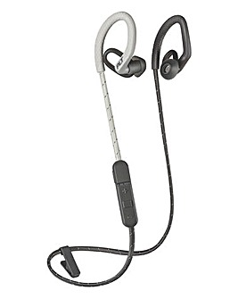 Plantronics Back Beat Fit 350 Grey-Blue Bluetooth Headphones