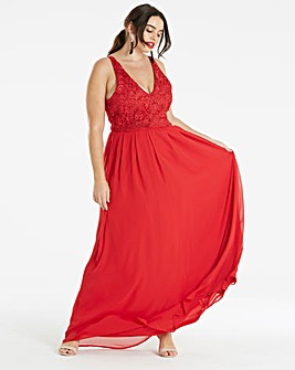 AX Paris Curve Maxi Dress