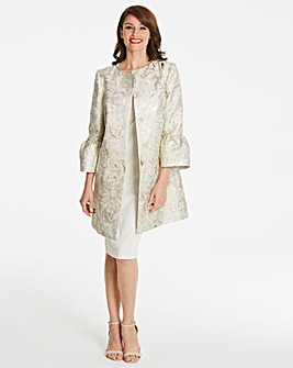 Helene Berman Trumpet Sleeve Coat