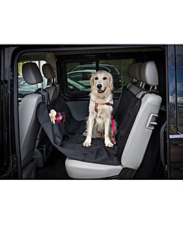 Petface Waterproof Rear Car Seat Cover