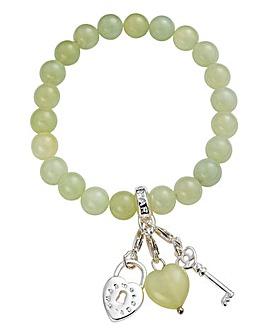 Charmology The Key to Peace Bracelet