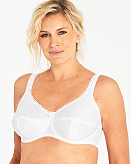 Fantasie Cotton Lined Speciality White Bra