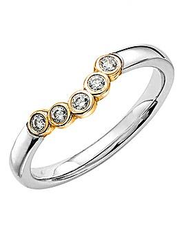 18 Carat Gold Callisto Bubble Ring