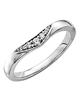 18 Carat Ava Boomerang Ring