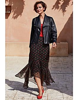 Joanna Hope Ditsy Print Maxi Skirt