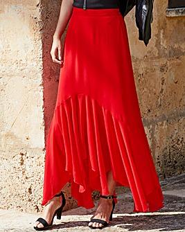 Joanna Hope Frill Hem Skirt
