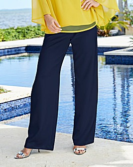 Joanna Hope Stretch Wide Leg Trousers