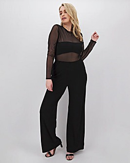 Joanna Hope Stretch Wide Leg Trousers