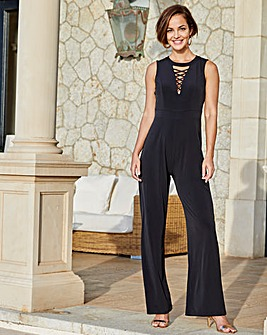 Joanna Hope Cross Detail Jumpsuit
