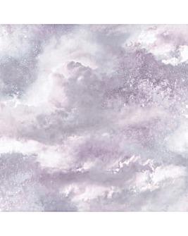 Diamond Galaxy Wallpaper Lilac