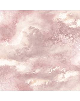 Diamond Galaxy Wallpaper Blush