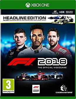 F1 2018 Formula 1 Xbox One