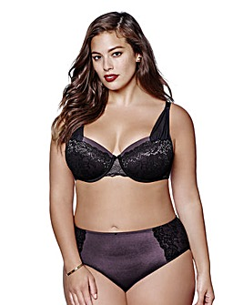 Ashley Graham Micro Lace Balcony Bra