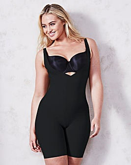 Maidenform Take Inches Off Black Singlet